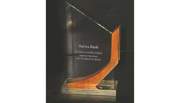 Barwa Bank wins 'Excellence in Diversified Islamic Services and Products in Qatar' award