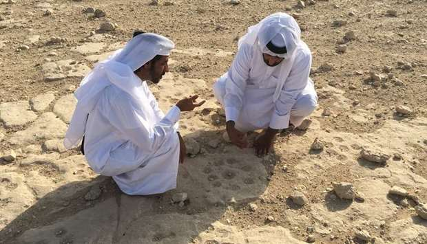 QM's Department of Archaeology experts perform survey activities