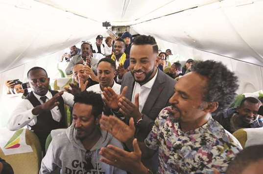 Exiles dreaming of home as Ethiopia's 'Wall' comes down