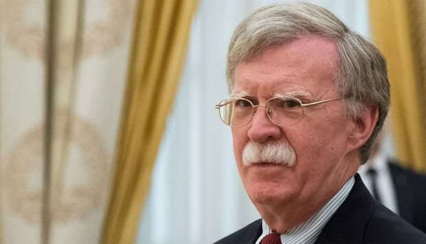 US National Security Adviser Bolton