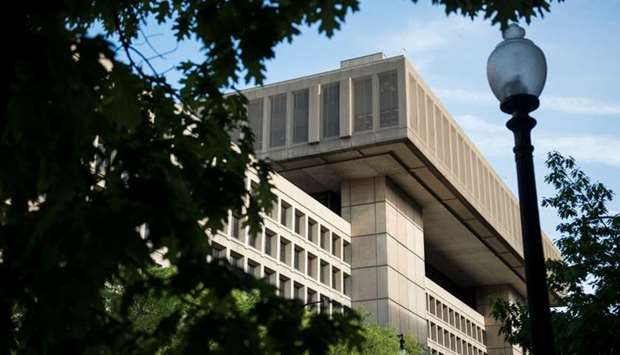 J. Edgar Hoover Building, the headquarters for the Federal Bureau of Investigation (FBI)