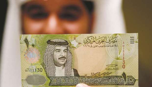 Bahrain central bank net foreign assets fall in May as currency under threat