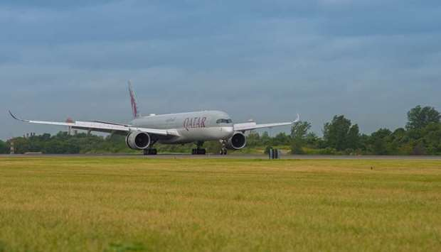 The ultramodern aircraft touched down in Philadelphia on July 23.