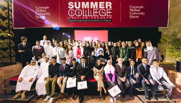 Participants of the Summer College Preview Programme