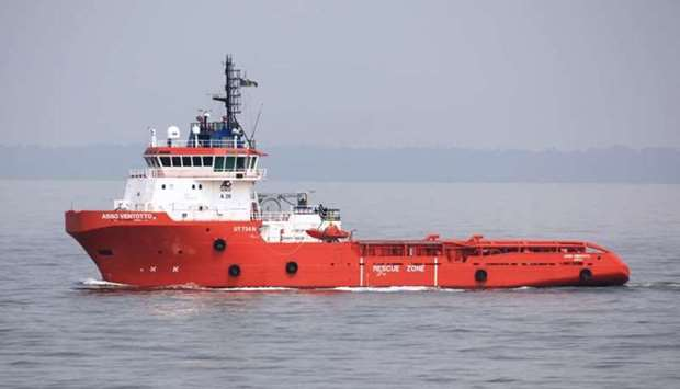 Asso Ventotto -Italian offshore supply ship