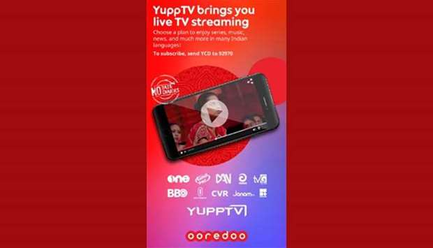 Ooredoo, YuppTV launch free streaming service for Qatar