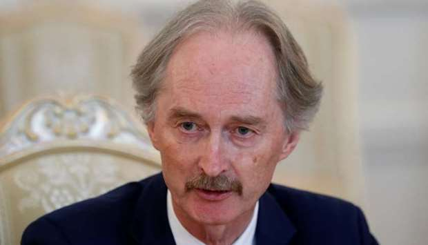 United Nations Special Envoy to Syria Geir Pedersen
