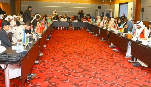 Participants during a discussion at the Doha Islamic Youth Forum which concluded Thursday