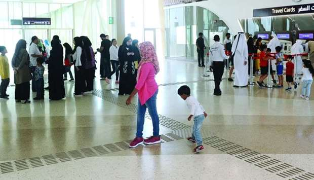 Doha Metro, once fully operational, is expected to further boost Qatar's retail sector.