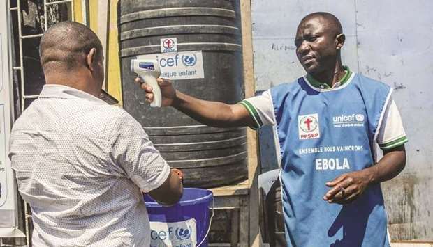 DR Congo urges calm as Ebola emerges in Goma