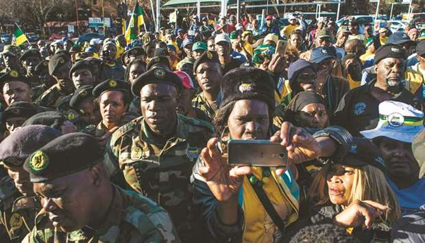 Zuma reiterates he is the victim of a conspiracy