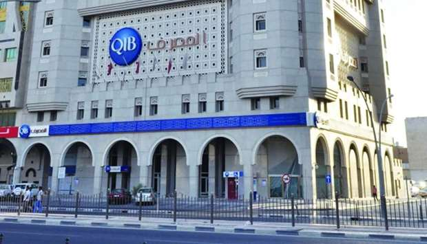 The QIB headquarters at Grand Hamad Street in Doha