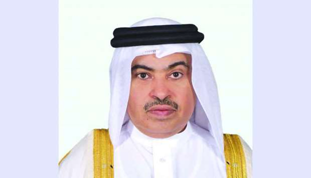 HE the Minister of Commerce and Industry Ali bin Ahmed al- Kuwari