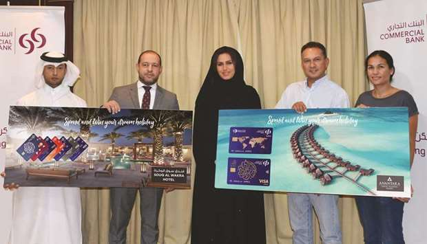 Commercial Bank names winners of 'International Spend Campaign'