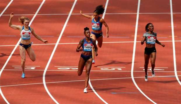 Thompson wins 200m in London as Muir storms to victory in 1500m