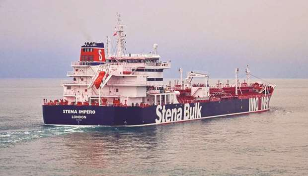 Iran seizes British tanker, denies US downed drone