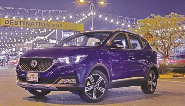 The MG ZS crossover.