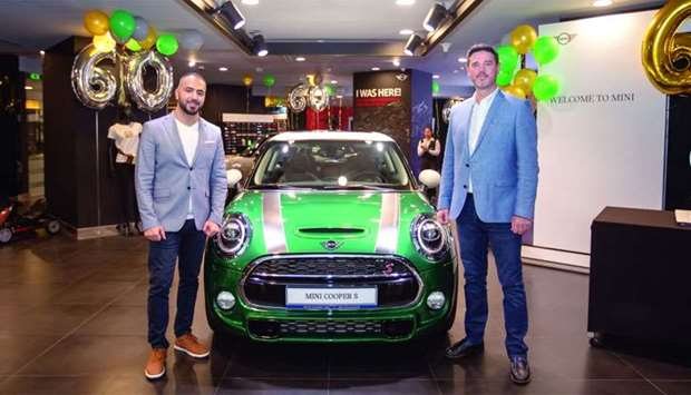 Snapshots from the event marking the official unveiling of the MINI 60 Years Edition cars.