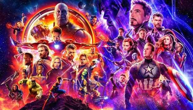 Avengers: End Game poster