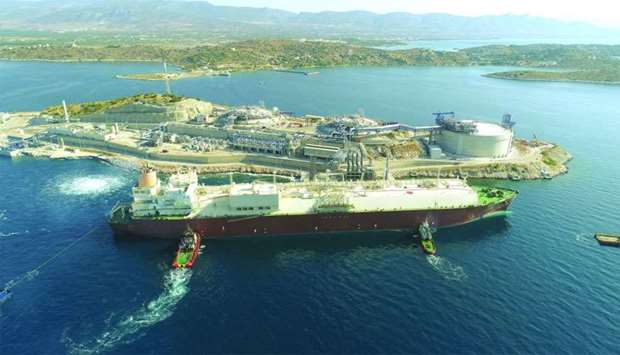 "Qatargas has ""safely and successfully"" delivered the first liquefied natural gas (LNG) cargo on 'Al"
