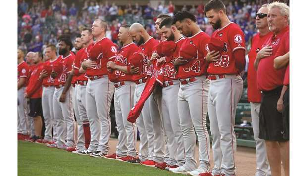 Angels players