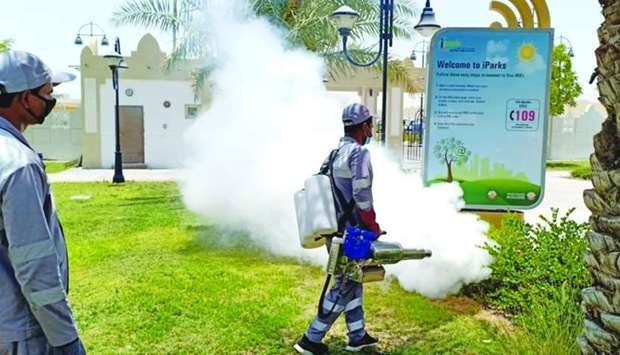 Disinfection and pest control drive in Al Sheehaniya