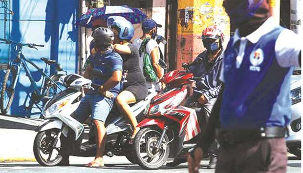 Govt allows pillion riding on motorcycles for couples