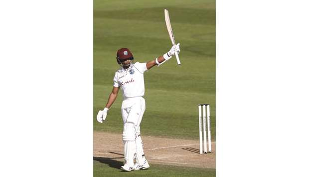 Dowrich puts WI in control of 1st Test