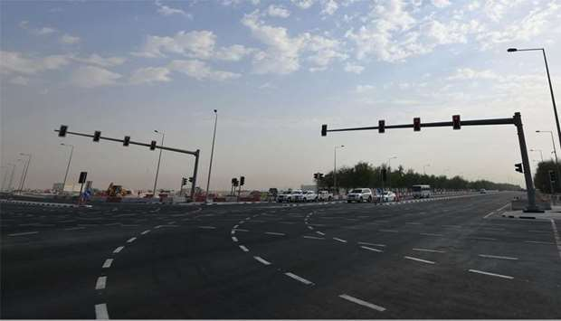 Ashghal opens Al Tarfa intersection to traffic