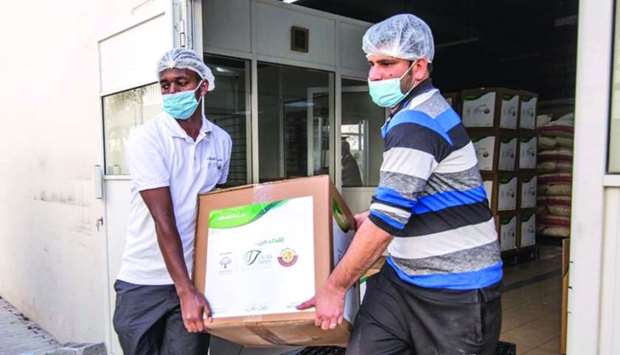 Ministry of Awqaf launches 3rd phase of food baskets