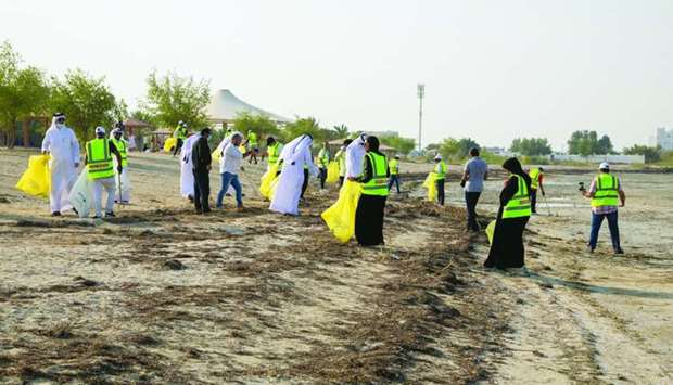 Ooredoo launches environment protection campaign with beach clean-up