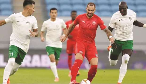 We are in a good position for top four finish: Al Arabi's Lasogga