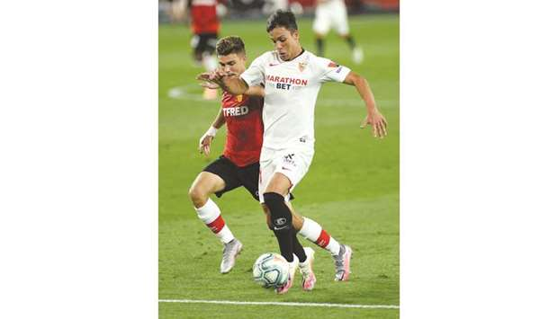 Sevilla on the cusp of Champions League qualification