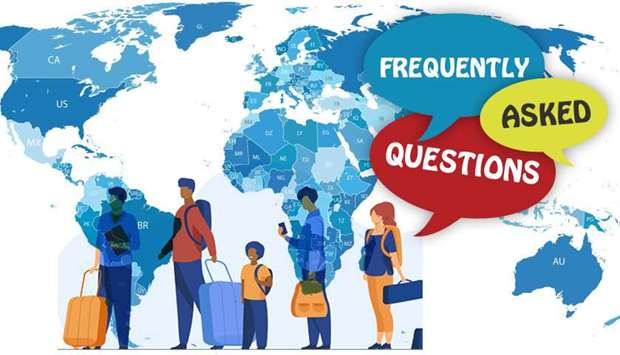 FAQ's on quarantine rules for arriving persons to Qatar