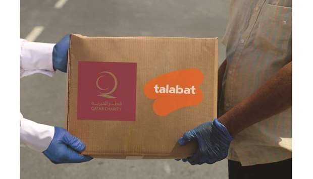 The Qatar Charity, talabat Qatar