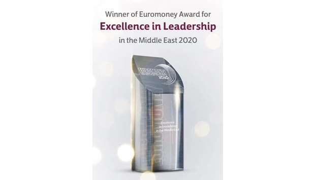Commercial Bank wins 'Excellence in Leadership in Middle East' award from Euromoney