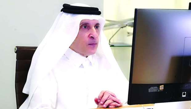 HE Akbar al-Baker, Qatar Airways Group chief executive and secretary-general of Qatar National Touri