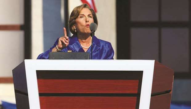 Jan Schakowsky, a Democratic representative from Illinois, speaks at a convention in Denver (file).