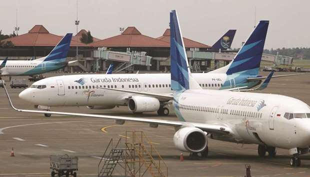 PT Garuda's passenger traffic has risen to 16% of its capacity after the government lifted a tempora