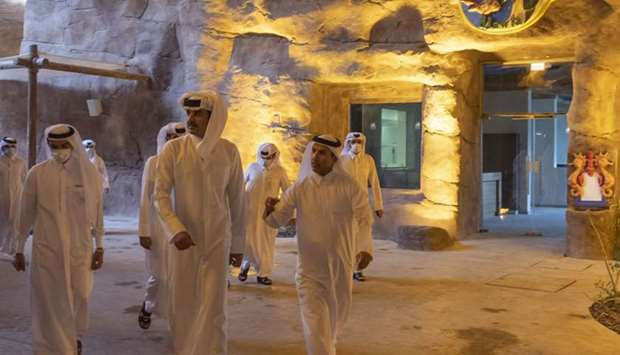 Amir makes inspection visit to Salwa Beach Resort
