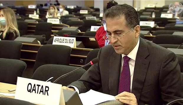HE Permanent Representative of the State of Qatar to the United Nations Office at Geneva Ambassador