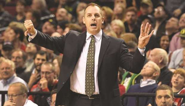 Los Angeles Lakers coach Frank Vogel has supported the move.