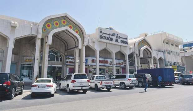 A view of Souq Al Dira. PICTURES: Shemeer Rasheed