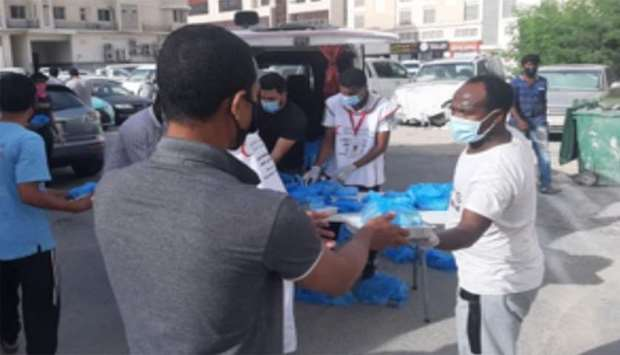 Applebee's Qatar joined hands with Qatar Red Crescent Society and Qatar Charity to embrace the large
