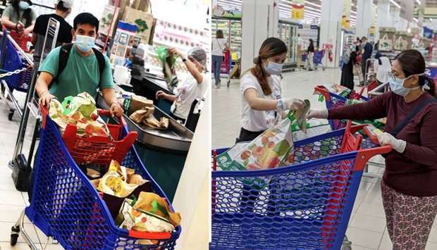 Carrefour provided each in-store customer with a free reusable bag, alongside 10 reward points for M