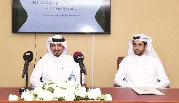 The ministry held a joint press conference with Mahaseel Company regarding the application of the ca