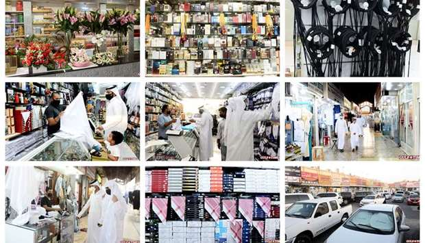 With Qatar residents making final preparations for Eid-al-Adha celebrations, shopping centres and re