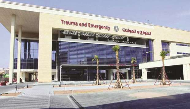 The various emergency departments at Hamad Medical Corporation (HMC) received 1,065 cases on the fir