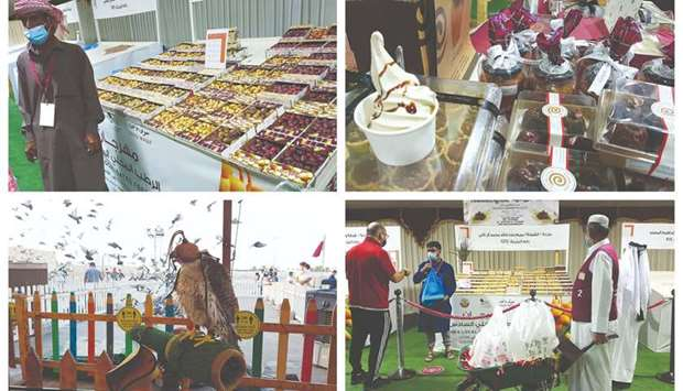 Popular varieties of dates on display at Local Dates Festival at Souq Waqif, running until July 30.