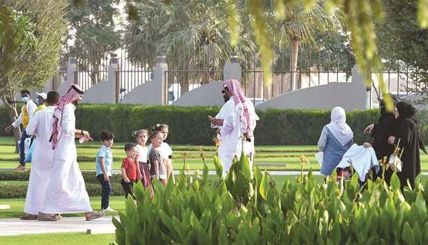 Al Khor Family Park is a popular destination in Qatar. PICTURES: Noushad Thekkayil.